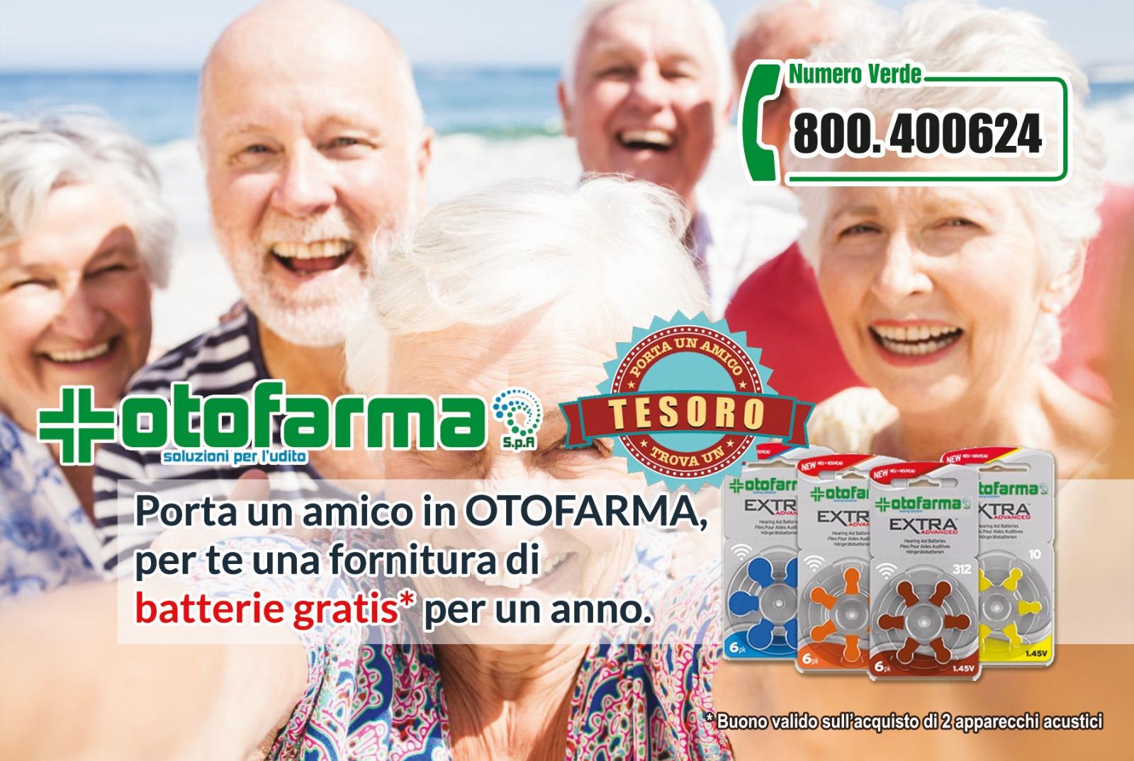 Campagna porta un amico in Otofarma